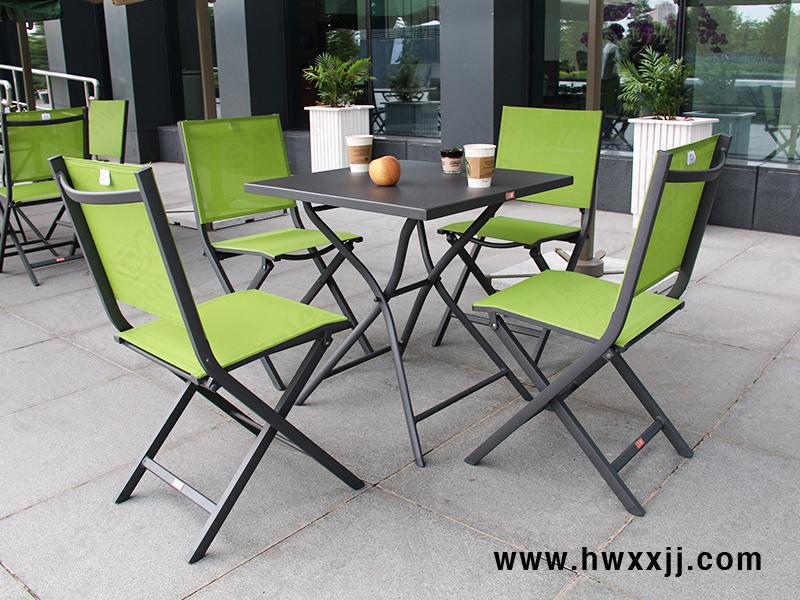 铝板折叠方桌