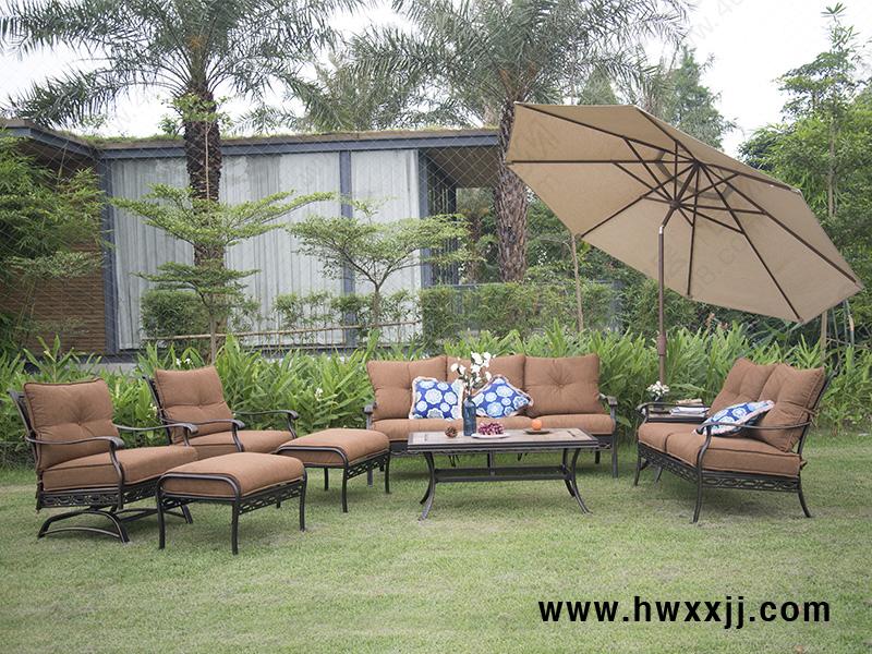 铸铝沙发BML13123