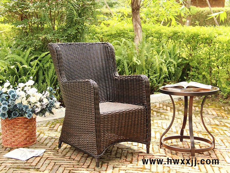 藤编餐椅CA1609