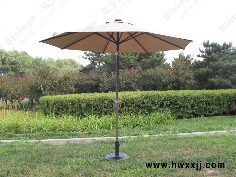 偏转灯光伞